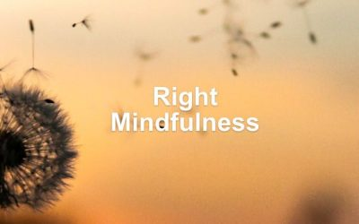 Right Mindfulness Dharma Talk